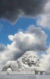 Estátua do leão imagem de stock