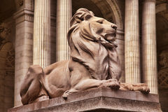 Estátua do leão Imagem de Stock Royalty Free