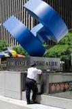 A estátua do marco da Tempo-vida Imagens de Stock
