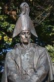 Estátua do marechal de campo Michael Barclay de Tolly do russo Foto de Stock