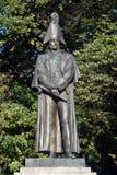 Estátua do marechal de campo Michael Barclay de Tolly do russo Imagem de Stock