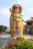 Estátua do mazu chinês da deusa do mar, adôbe rgb fotos de stock