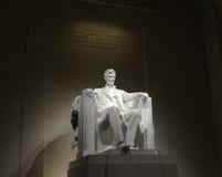 Estátua do memorial de Lincoln Imagens de Stock