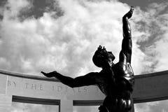 Estátua do memorial do dia D Fotos de Stock Royalty Free