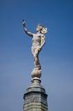 Estátua do Mercury de Hermes foto de stock