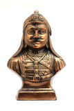 Estátua do metal do pratap do maharan Fotos de Stock