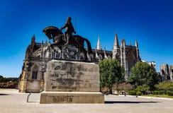 Estátua do monastério de Batalha fotografia de stock royalty free