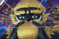 estátua do monstro celestial imagem de stock royalty free