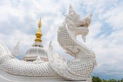 Estátua do Naga Imagem de Stock