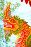 Estátua do Naga Imagens de Stock Royalty Free