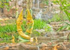 Estátua do Naga Imagem de Stock Royalty Free