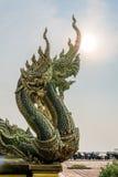 Estátua do Naga Fotos de Stock Royalty Free
