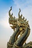 Estátua do Naga Fotografia de Stock