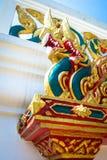 Estátua do Naga, Tailândia Imagem de Stock