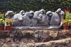 Estátua do ornamental do parque Imagens de Stock Royalty Free