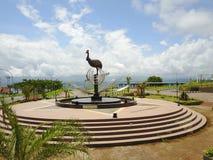 Estátua do pássaro de paraíso Imagem de Stock