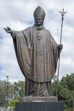 Estátua do papa imagem de stock royalty free