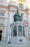 A estátua do papa foto de stock