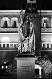 Estátua do patriarca Hermogenes no jardim de Alexander Fotografia de Stock