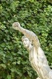 Estátua do poder imagem de stock
