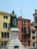 Estátua do poeta Paolo Sarpi Fotografia de Stock