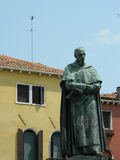 Estátua do poeta Paolo Sarpi Fotos de Stock Royalty Free