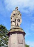 Estátua do príncipe Albert na polegada norte, Perth, Escócia Fotografia de Stock Royalty Free