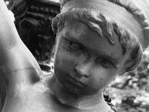 Estátua do querubim Imagem de Stock