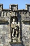 Estátua do rei Edward VII em Salisbúria, Wiltshire, Inglaterra imagens de stock royalty free