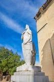 Estátua do rei espanhol Alfonso II das Astúrias Foto de Stock