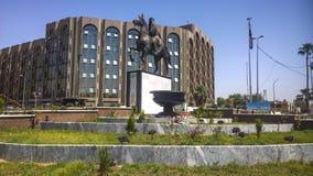 A estátua do rei Faisal mim imagens de stock