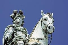 Estátua do rei José mim Foto de Stock Royalty Free