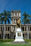 A estátua do rei Kamehameha, Havaí Imagem de Stock Royalty Free