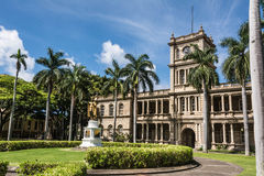A estátua do rei Kamehameha, Havaí Imagem de Stock