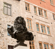 Estátua do rei Louis XIV Foto de Stock