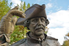 Estátua 2 do retrato imagens de stock