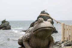 Estátua do sapo, Mie Prefecture, Japão Imagem de Stock Royalty Free