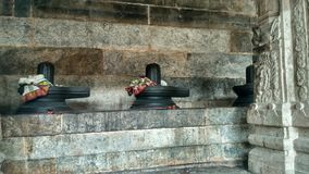 Estátua do shiva do templo de Ekambareshwarar Foto de Stock