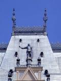 Estátua do soldado no telhado Imagem de Stock Royalty Free