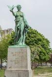 A estátua do soldado Pigeon Imagem de Stock Royalty Free