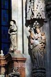 Estátua do St. Anne fotos de stock royalty free