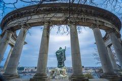 Estátua do St Gellert, Budapest, Hungria Imagem de Stock