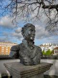 A estátua do Tenente General Sir John Moore Fotografia de Stock Royalty Free