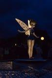 Estátua do tinkerbell Imagens de Stock
