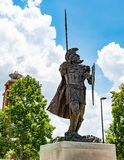 Estátua do Trojan de Troy foto de stock royalty free