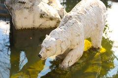 Estátua do urso Imagens de Stock Royalty Free