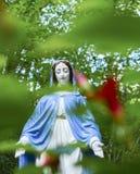 Estátua do Virgin Mary Fotos de Stock Royalty Free