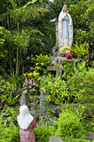 Estátua do Virgin Mary Fotografia de Stock Royalty Free