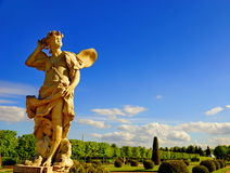Estátua do zéfiro. Fotografia de Stock