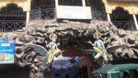 Estátua dois do senhor do hinduism foto de stock